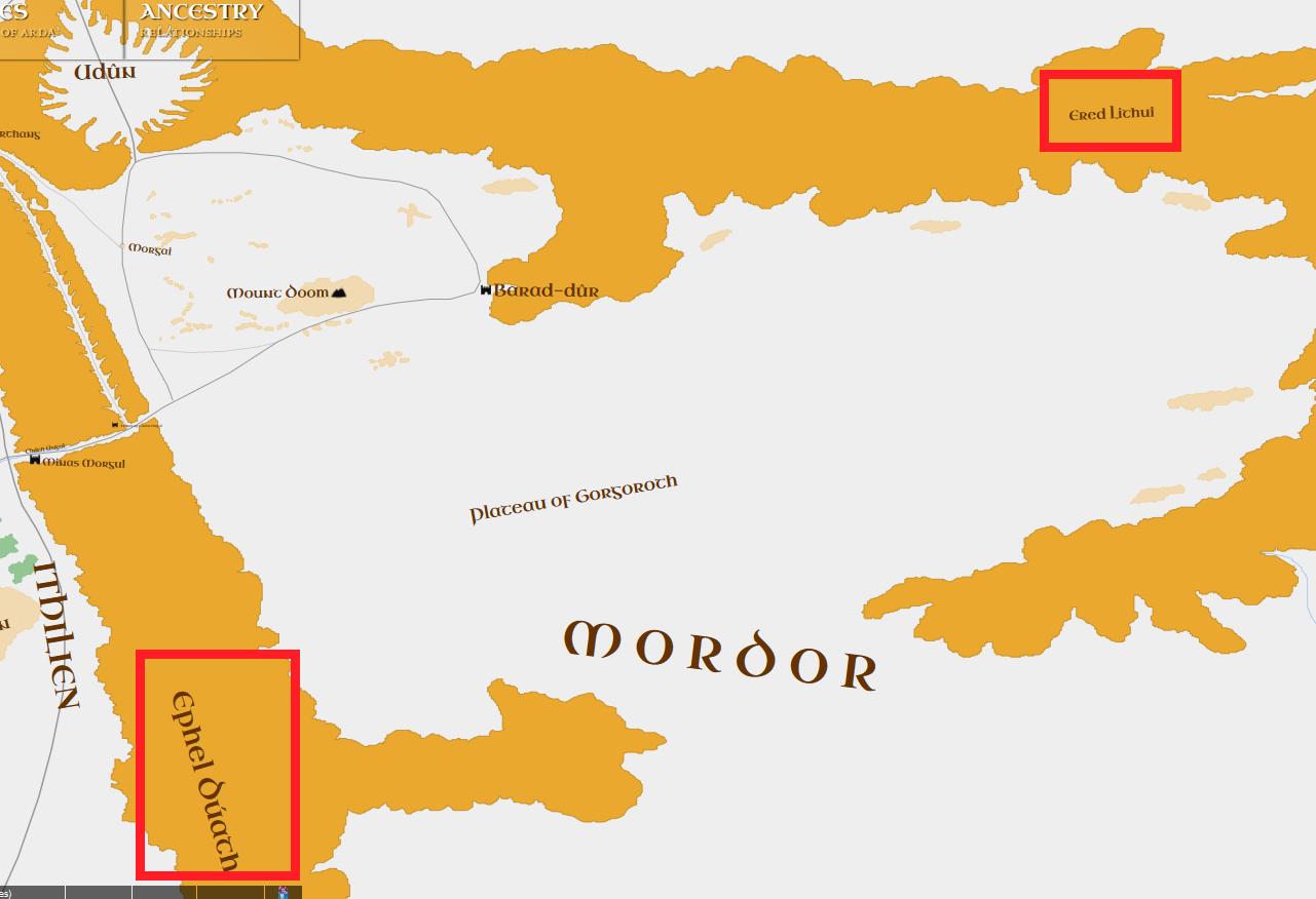 Mittelerde Karte Komplett.Arda Maps Interaktive Karten Der Ersten Drei Zeitalter Weitere